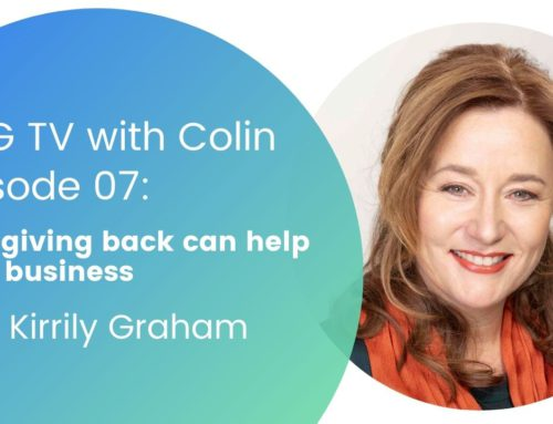 OBG TV with Colin: Episode 07 – Giving to Grow with Kirrily Graham